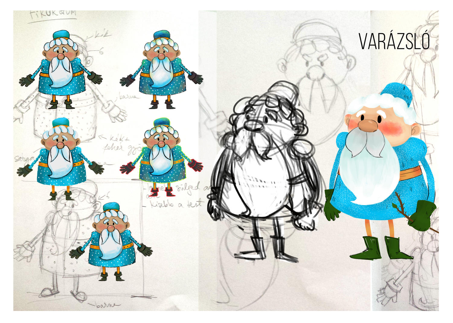 2d Character Design Books : D cartoon style character design by hedif on envato studio