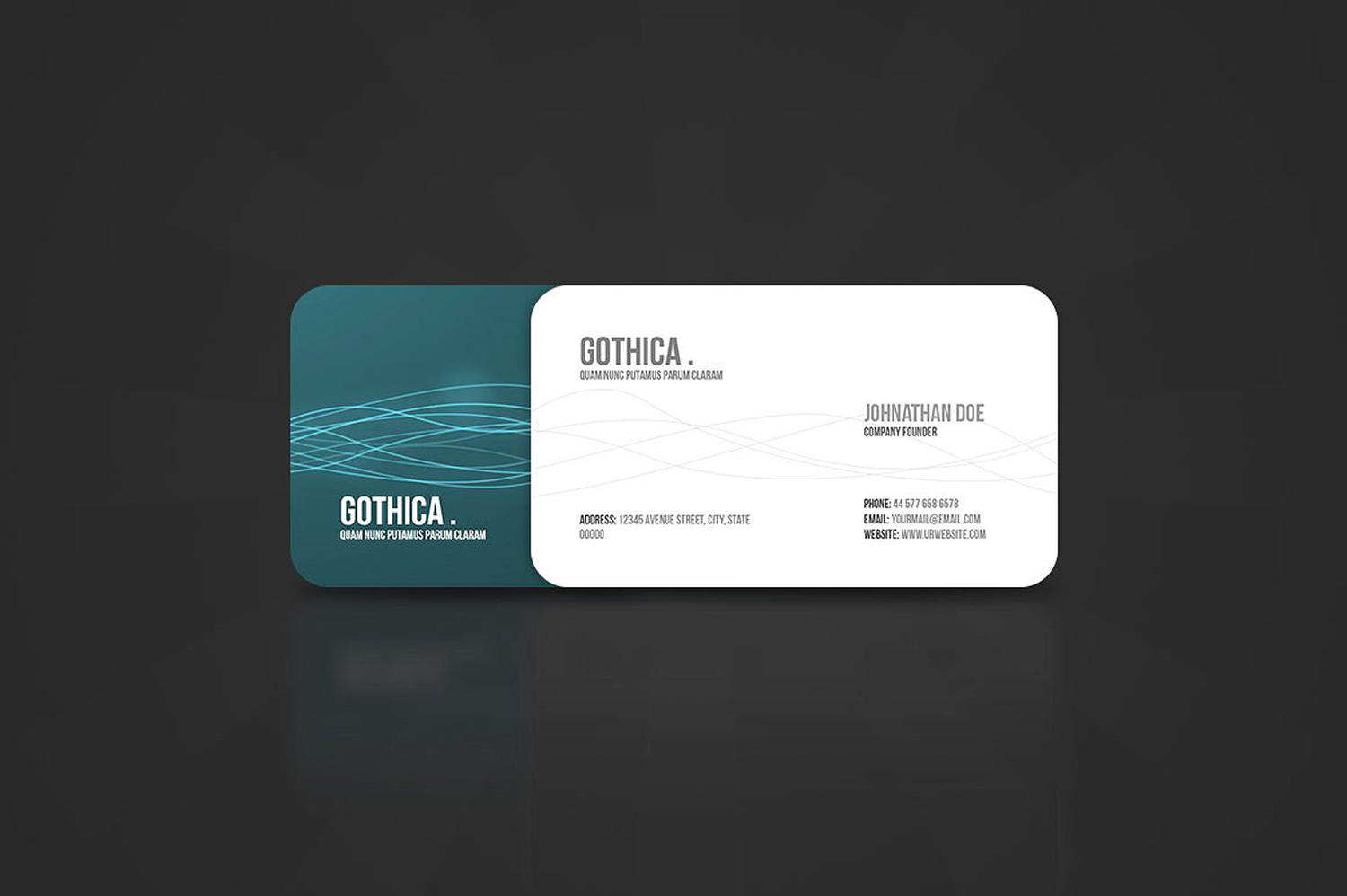 Professional Business Card Design Service by CreativeShop7 - 109142