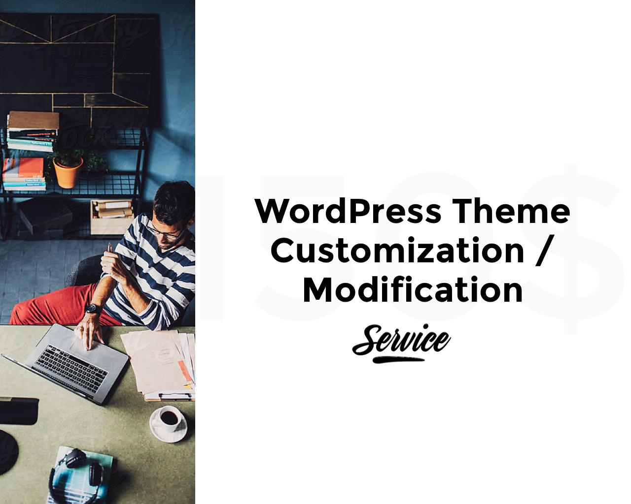 WordPress Theme Customization / Modification by pixelthrone - 103703