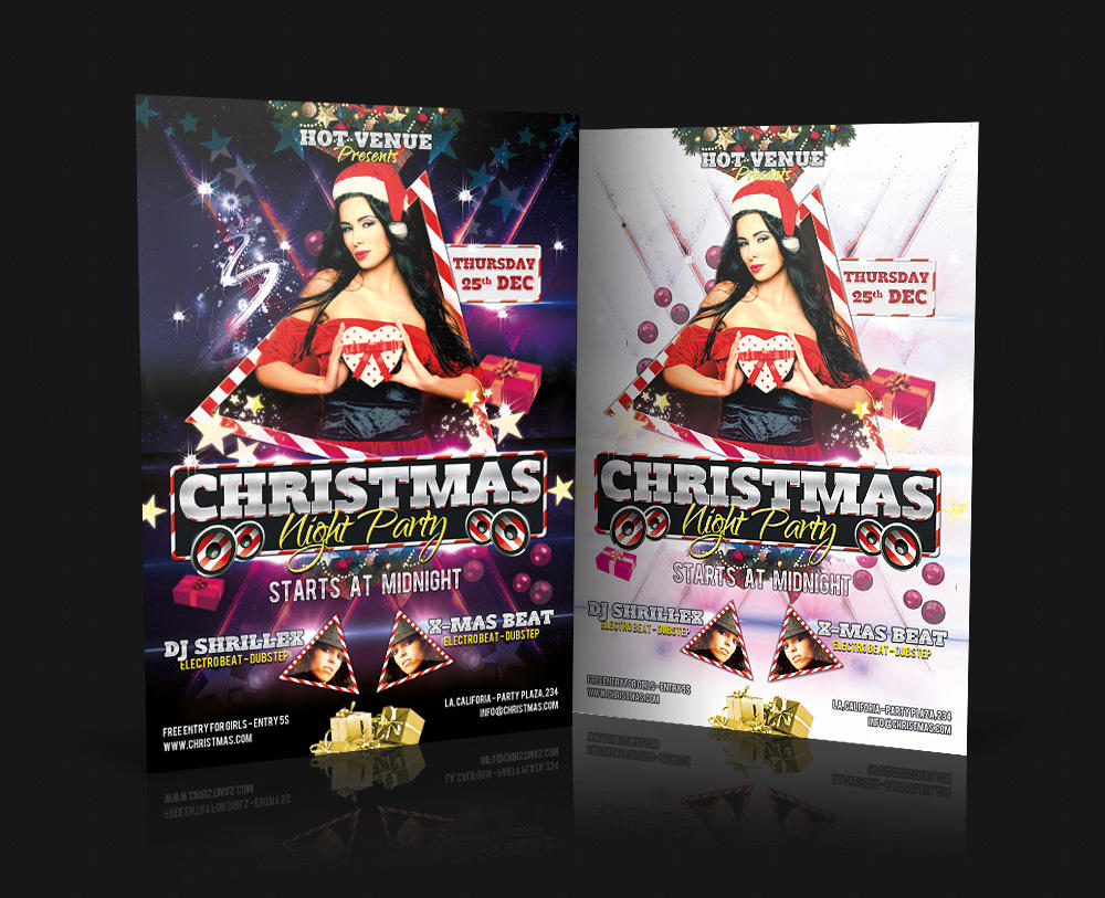 Professional Club and Party Flyer Design  by HollyMolly - 14130