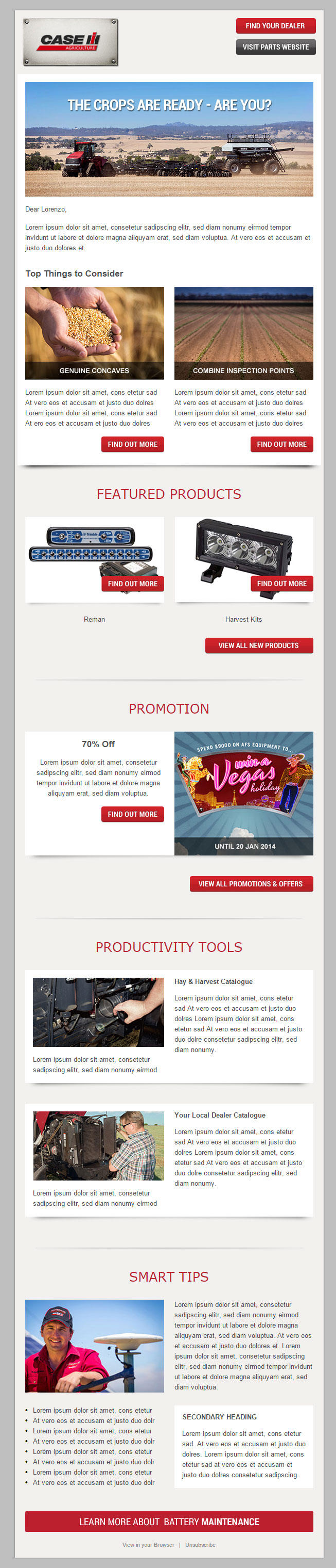 PSD to Responsive Email template for MailChimp or Any Email Marketing Platform by kunden - 61553