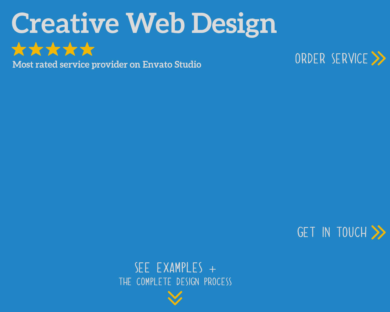 Creative Web Page Design by zlaws - 63452