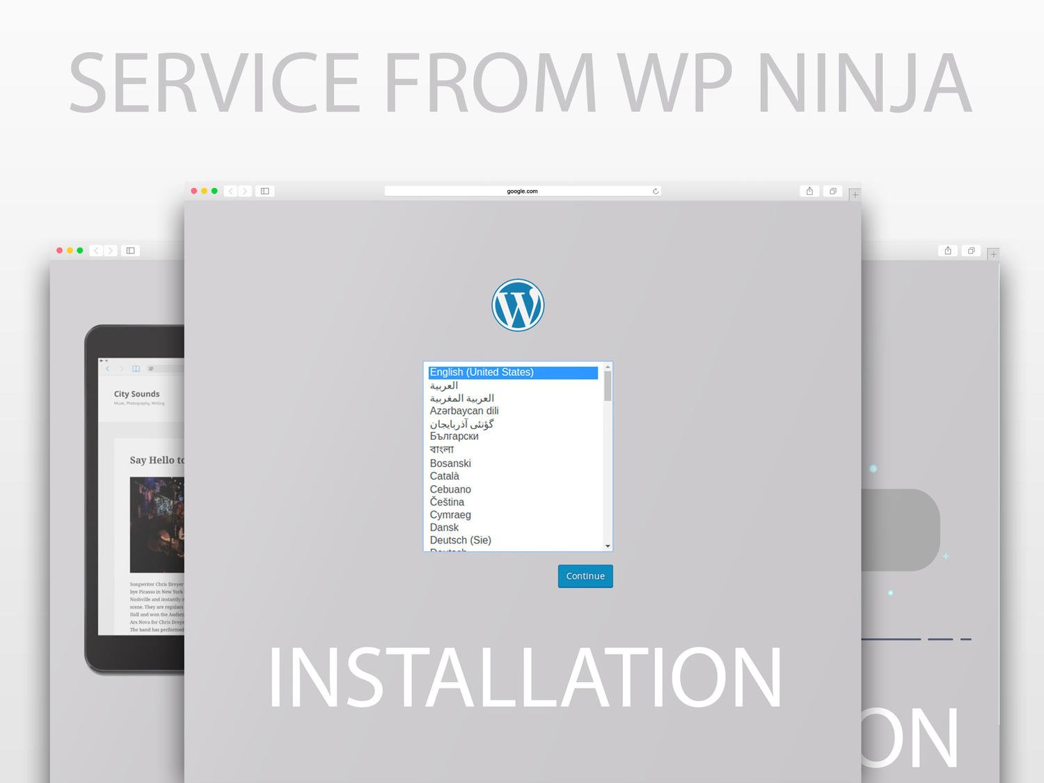 Wordpress Installation by Ninja (Theme Setup, SEO, Security, Performance) by azzepis - 102671