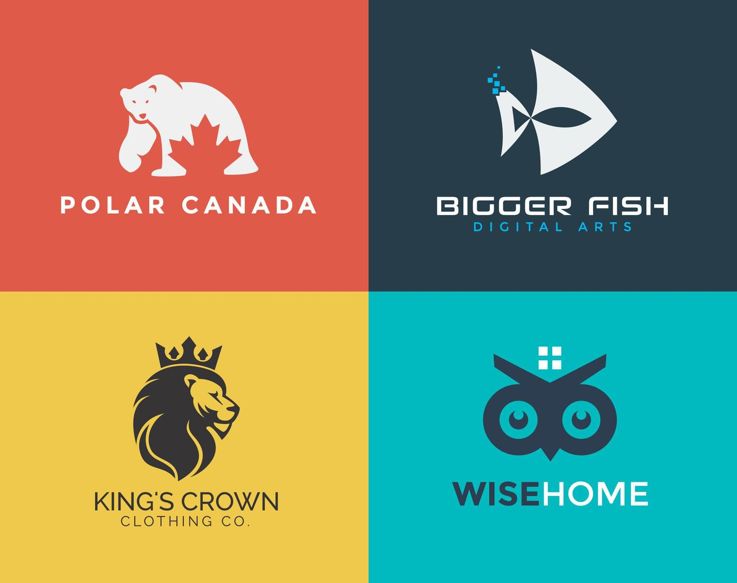 Simple and Creative Logo Design by GenesisDesign - 116406