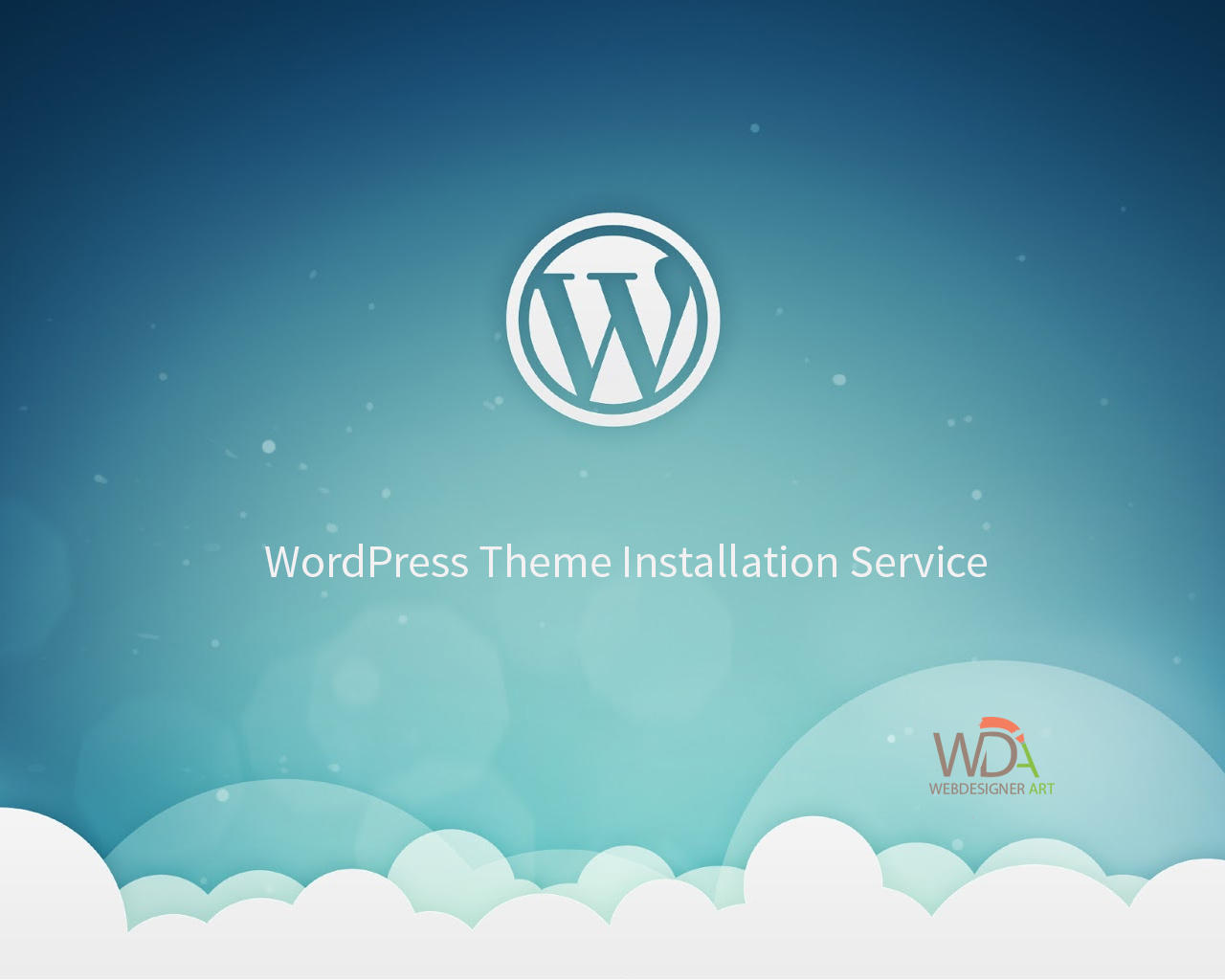 WordPress Installation + (Theme Demo Content, Logo, Plugin and Shop