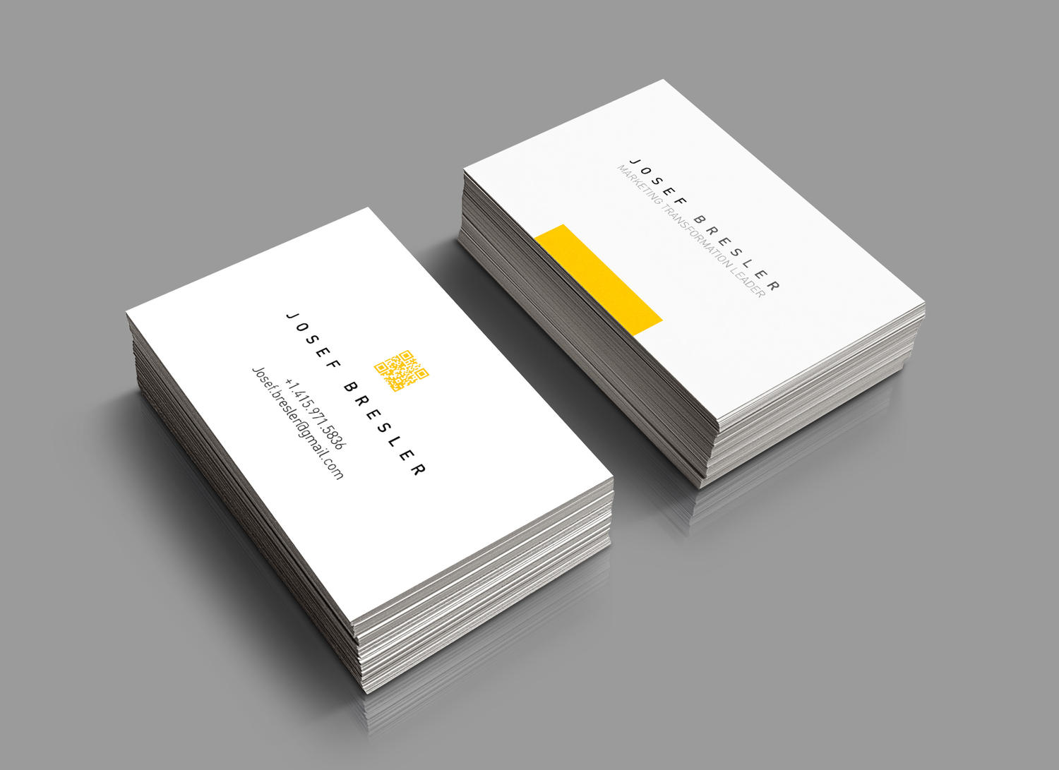 Unique And Modern Business Card Design By Cihanzengin On Envato Studio