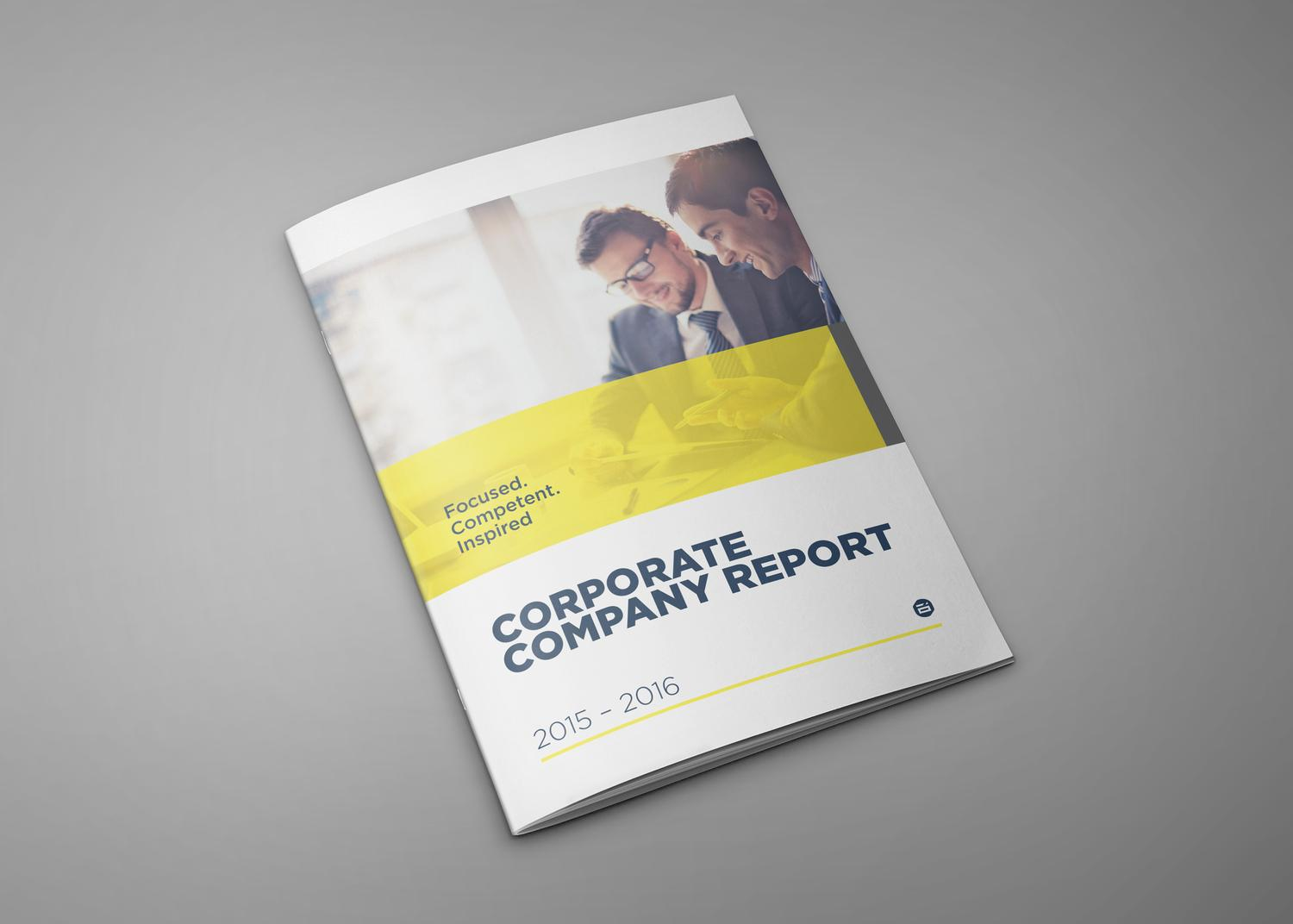 Modern Corporate Brochures / Company profile / Reports by Digital_infusion - 79990