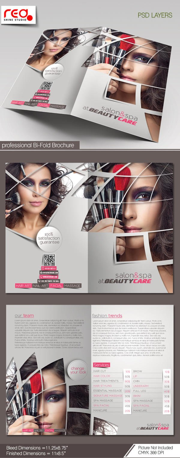 Bi-fold Brochure Design ( 4 Page )  by redshinestudio - 59383