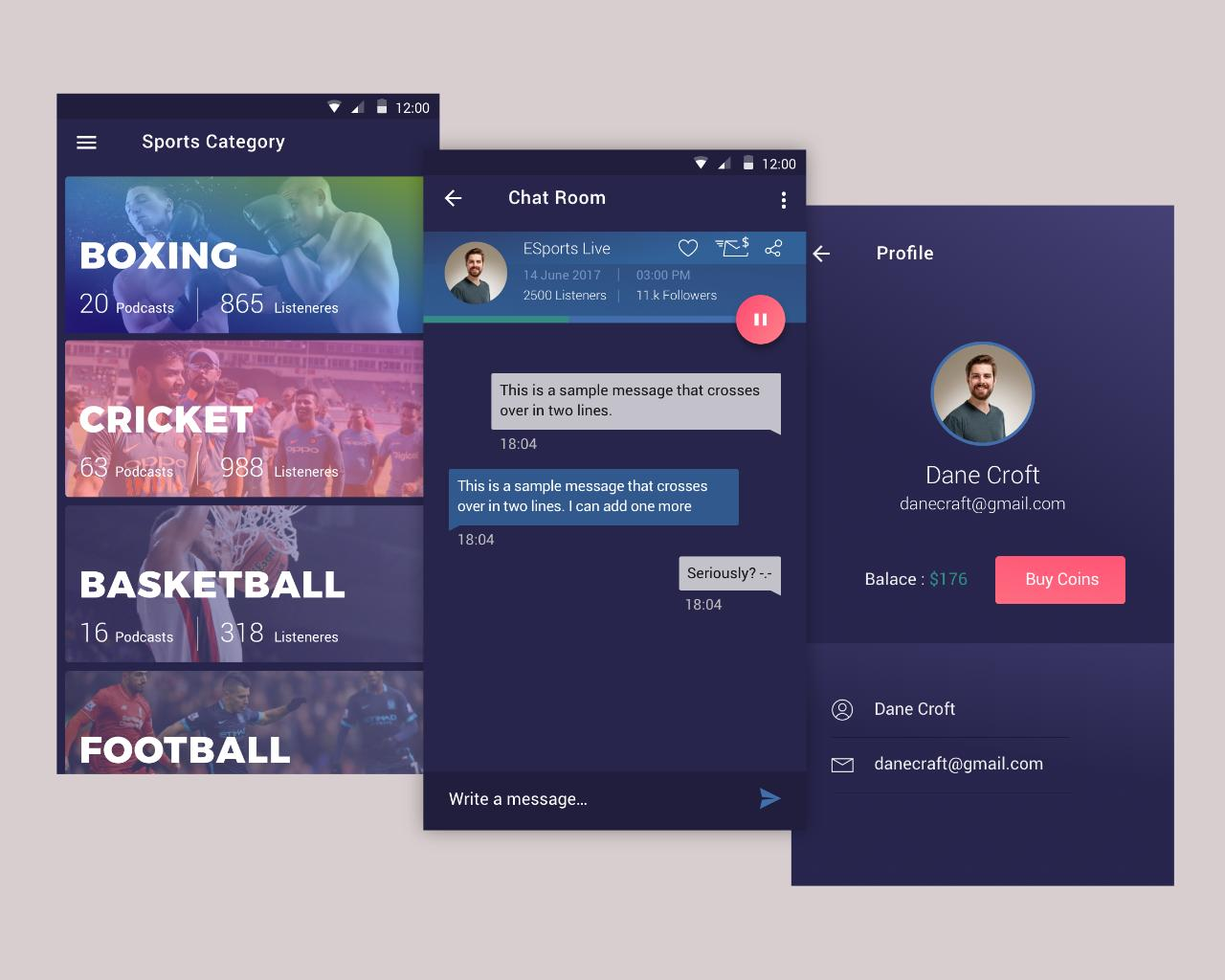 Mobile App Ui Ux Design For Ios And Android By