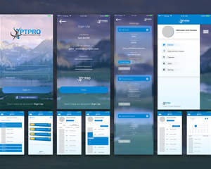 Mobile App UI Designing for iOS and Android by Graphicsc on
