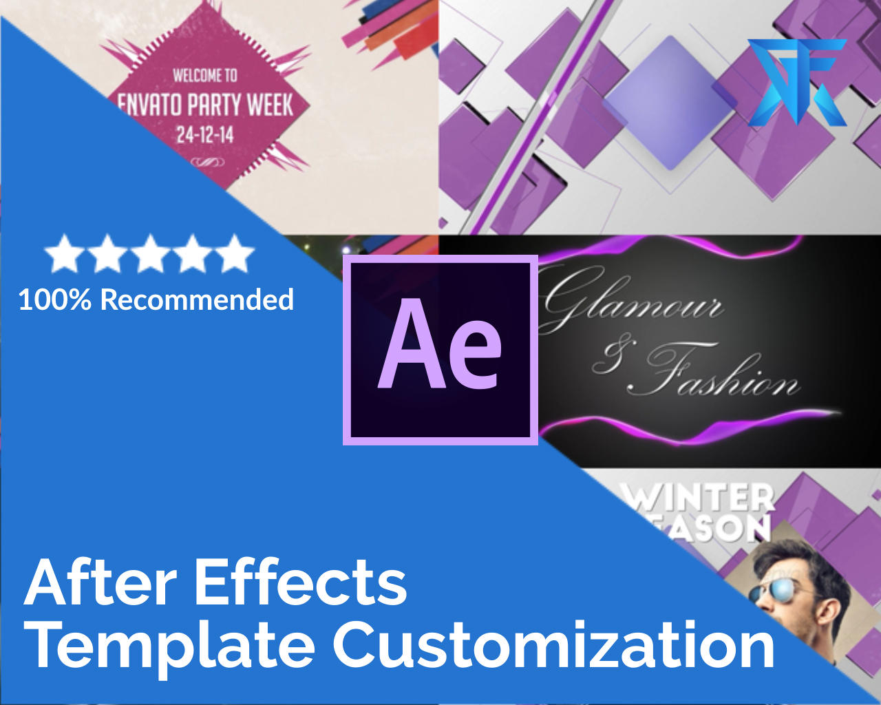 After Effects Video Template Customization and Rendering by gfxmotion - 105868