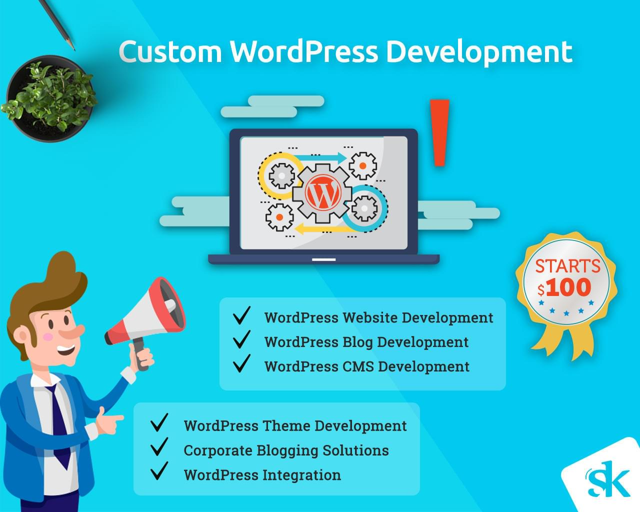 Custom WordPress Development by SK-Web-Solutions - 112981