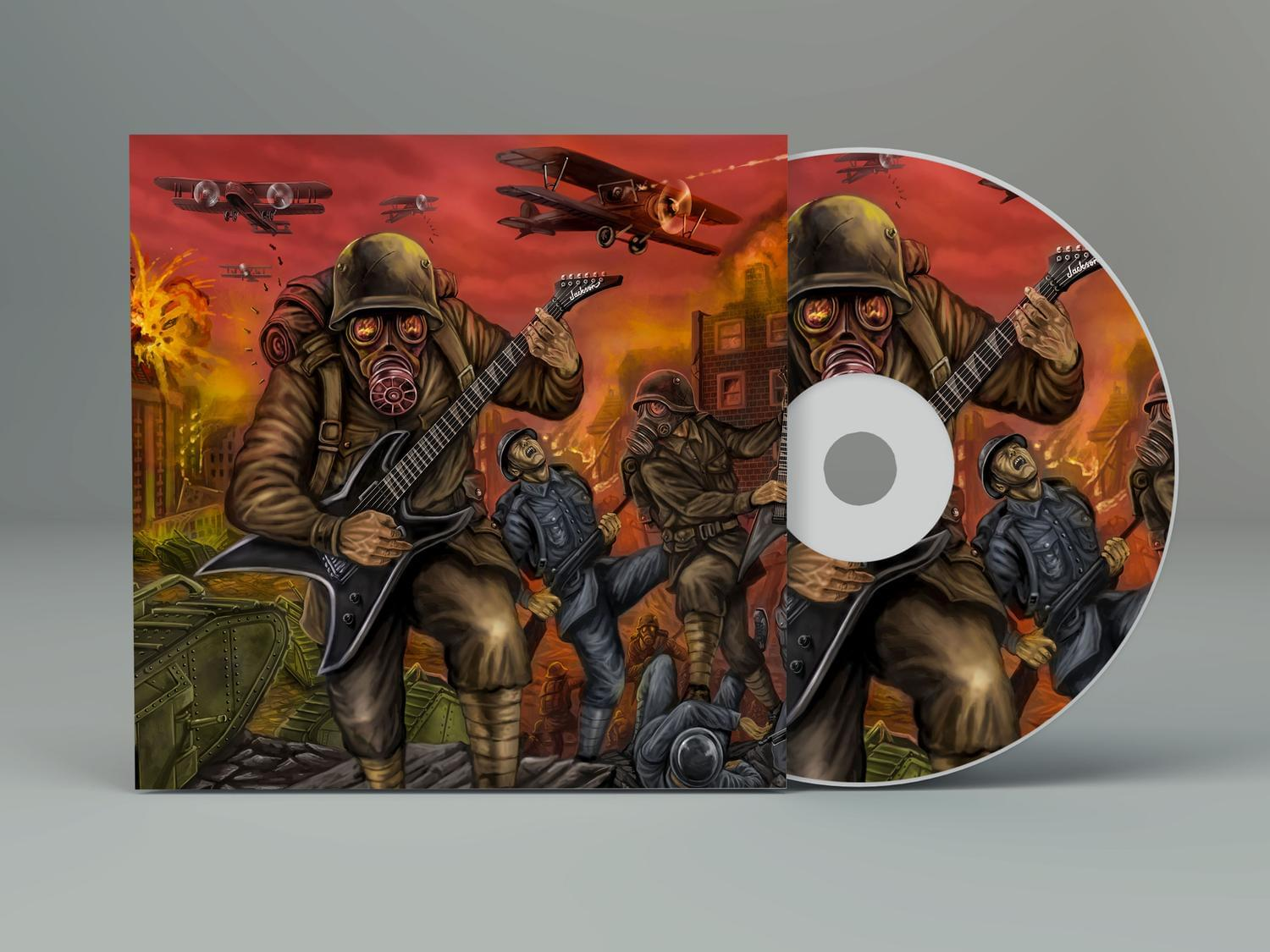 Band CD / DVD Cover Design by badyou23 - 118985