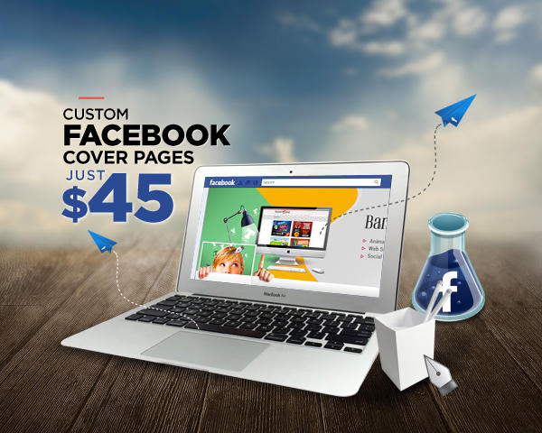 Custom Facebook Cover Design & Profile Picture by doto - 57933