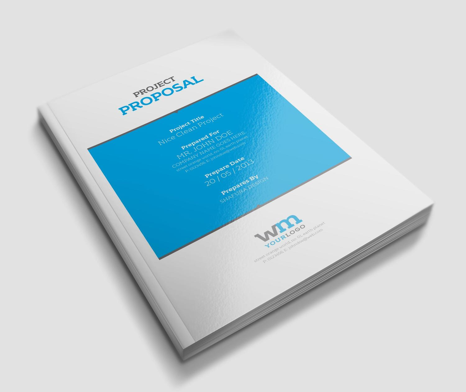 Professional Business Proposal or Brochure Design by Shafura - 7414