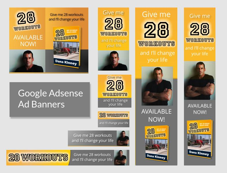 Google Adsense Banner Package by fontaine - 26629