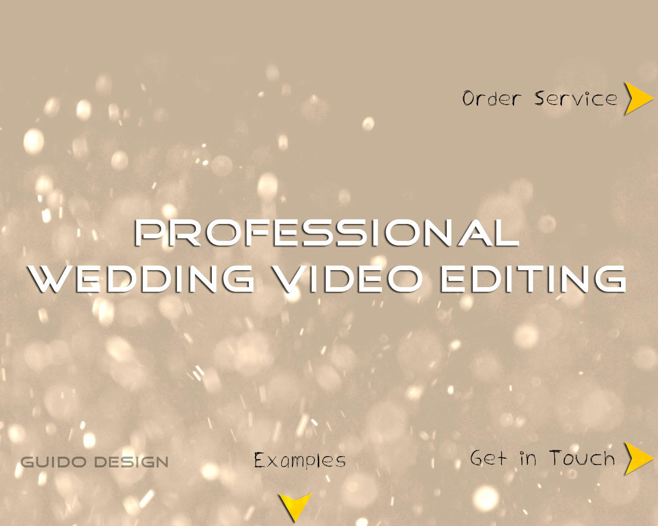 Professional Wedding Video Editing by GuidoDesign - 66277