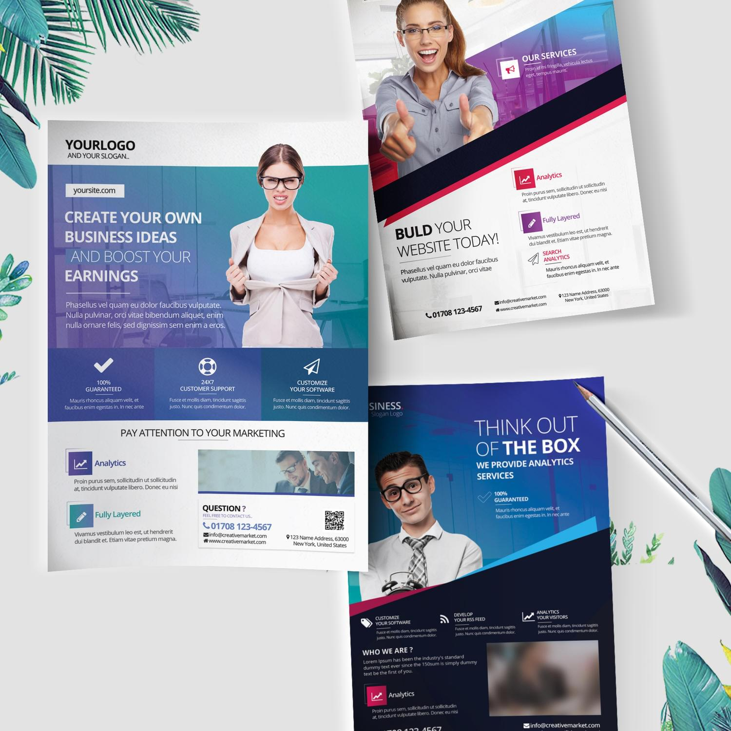 Creative Flyer for Business or Events by fidanselmani - 114854