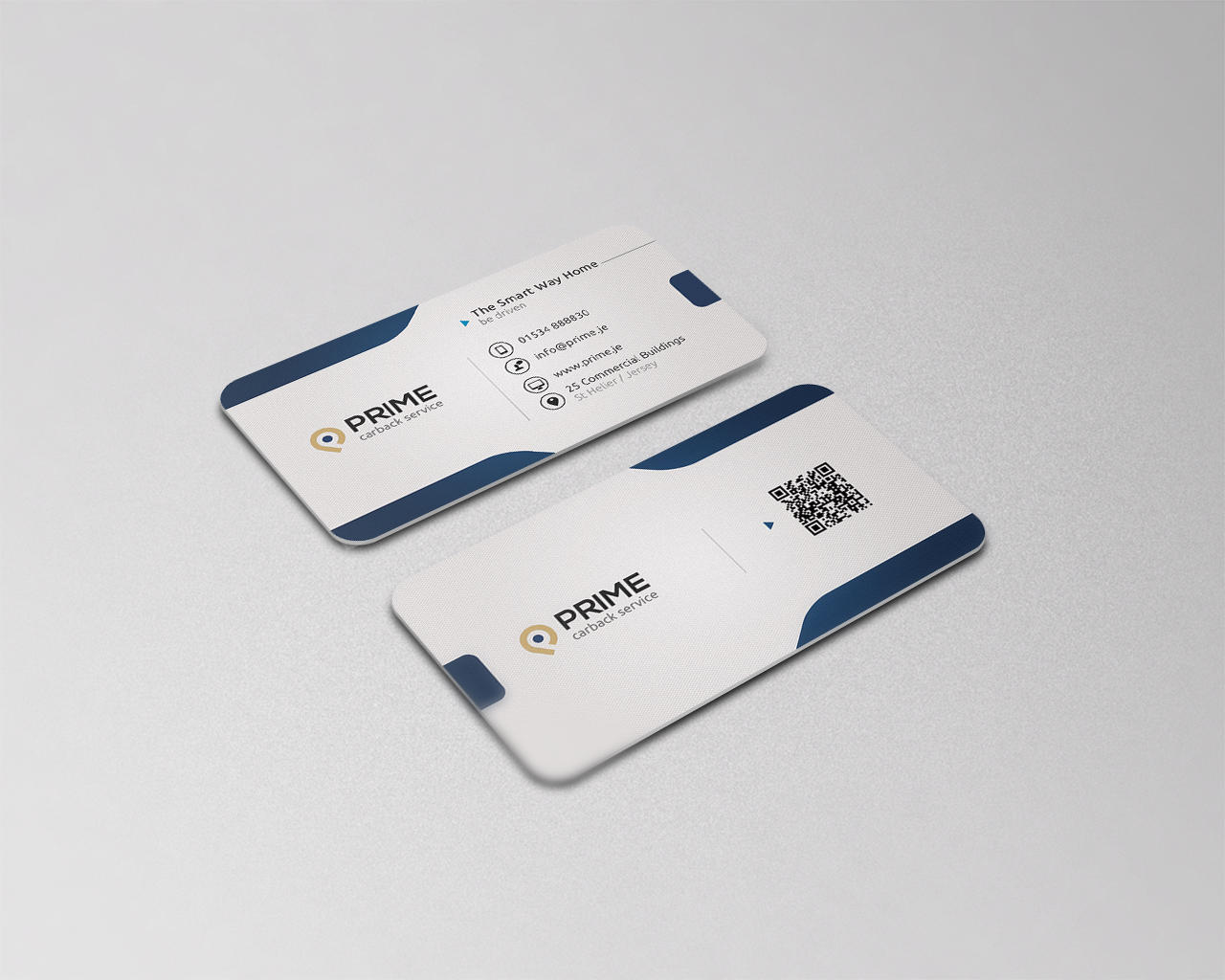 Professional Business Visiting Card Design by Vicasso on