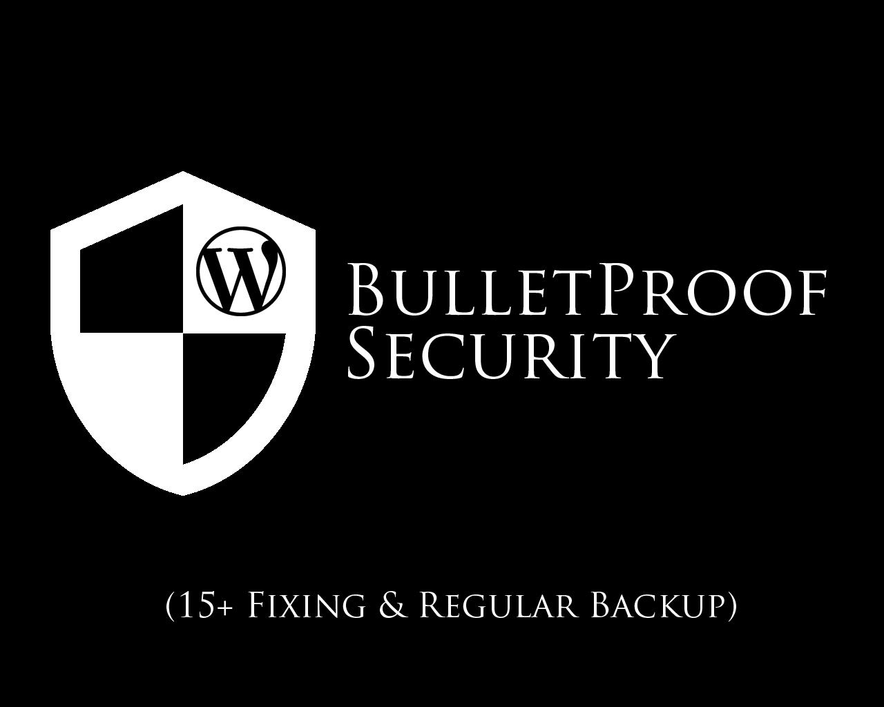 Wordpress BulletProof Security (15+ Error Fixing & Strong Security Setup) by hasanet - 101009