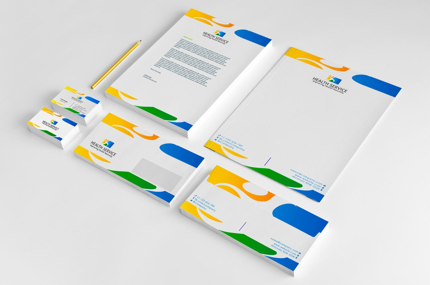 Professional Corporate Stationery Design by shujaktk - 69231