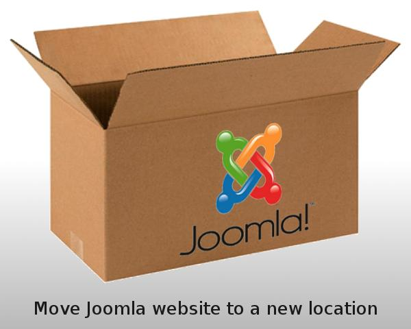 Move Joomla Website To A New Domain / URL by gijsw - 53444