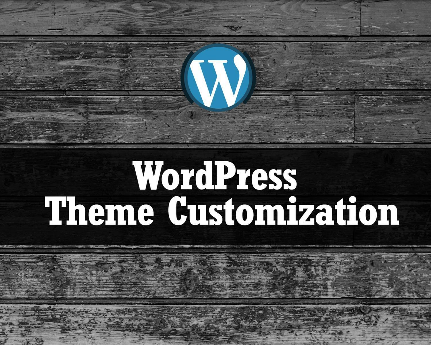 WordPress Theme Customization (Basic) by hasanet - 117577