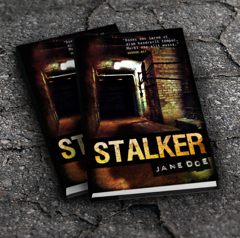 Horror, Thriller or Mystery Book Cover Design by Doppelgangers - 8140