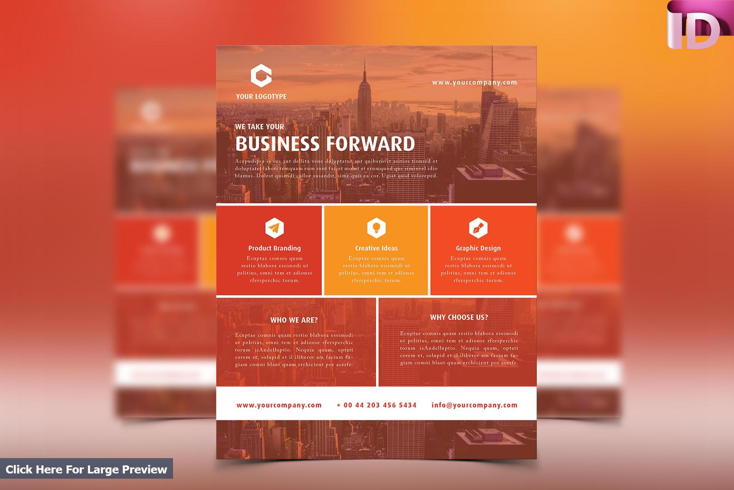 Professional Corporate/Business Flyer Design by carlos_fernando - 111072