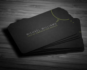 Exclusive business card design by lucasalexander on envato studio colourmoves