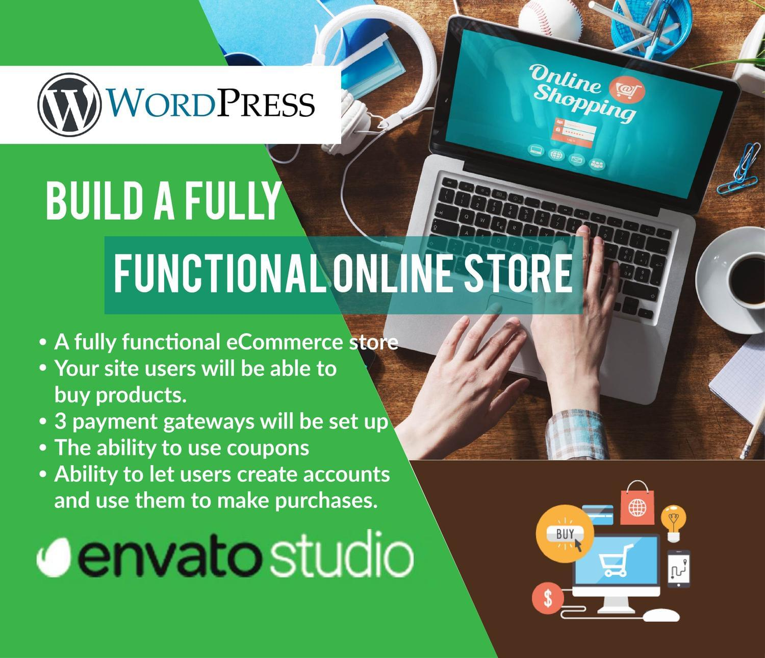 Build a Fully Functional Online Store by MuhammadHaroon - 116486