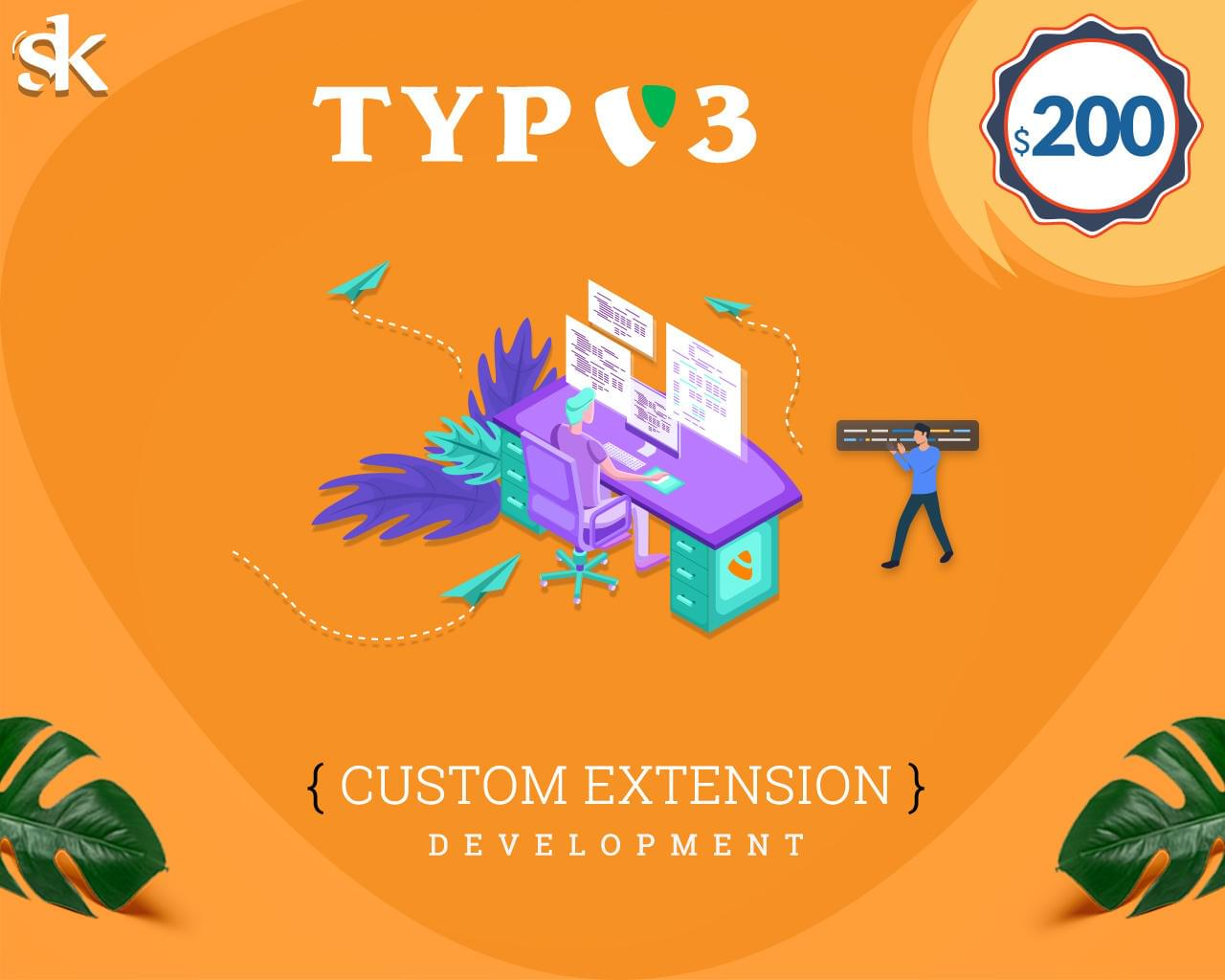 TYPO3 Custom Extension Development by SK-Web-Solutions - 115832