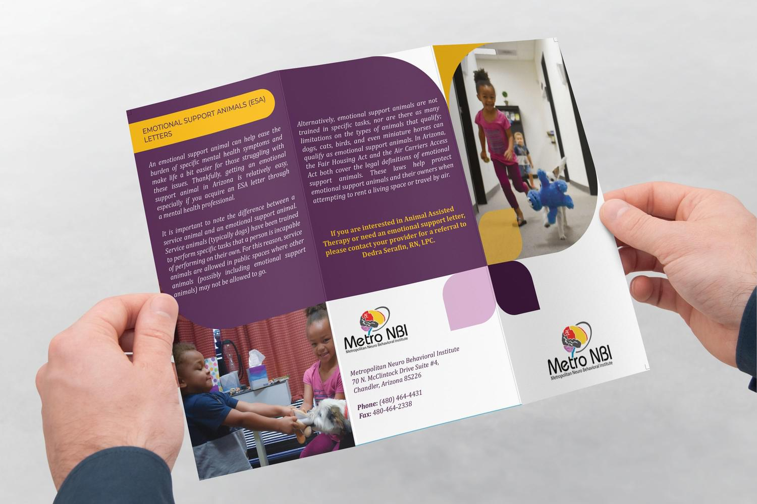 Corporate Trifold Brochure Design by ArtyChristina - 117476
