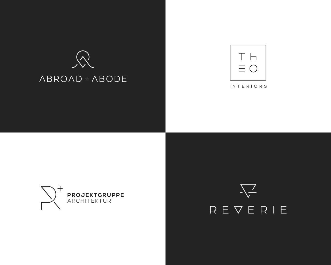 Professional Minimal Logo Design  by GraphicFlava - 117927