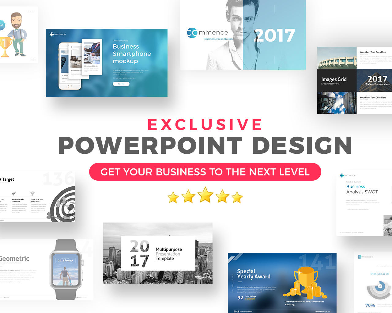 Professional Powerpoint Presentation Design by BrandEarth - 109428
