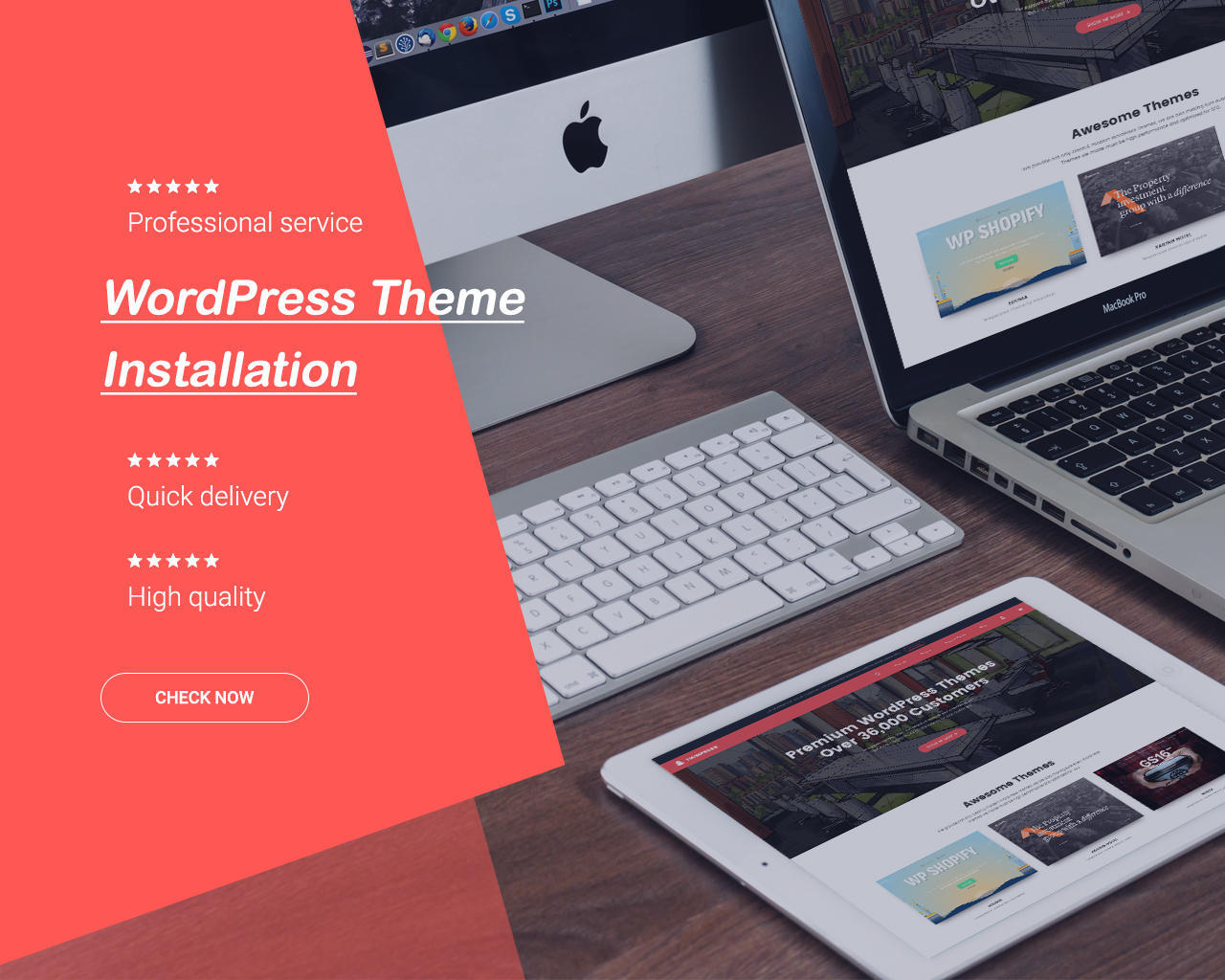 WordPress Theme Installation as Demo & All-in-one SEO, Security. by ThimPress - 110984