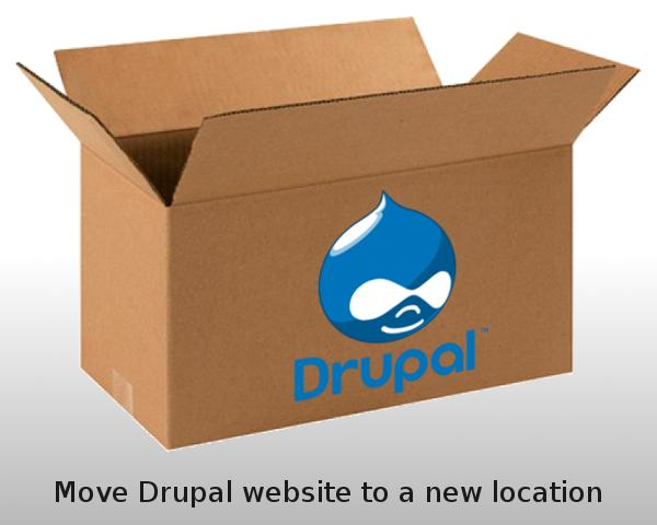 Move Drupal Website To A New Domain / URL by gijsw - 53448