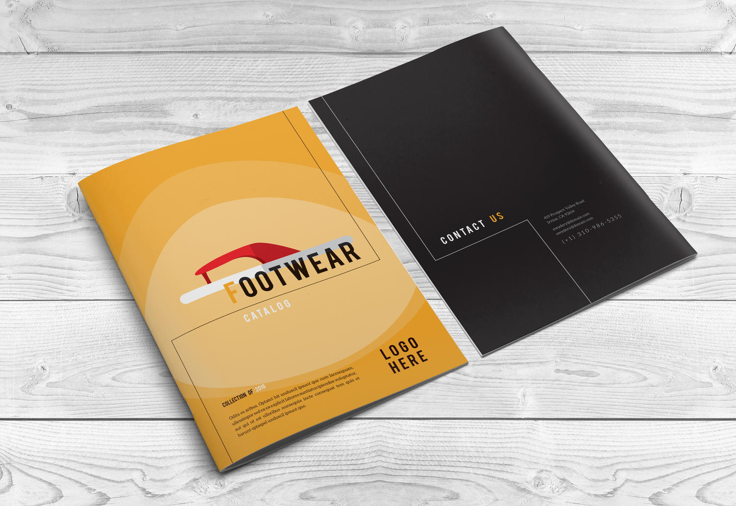 Creative corporate professional brochure design by for Typography brochure design