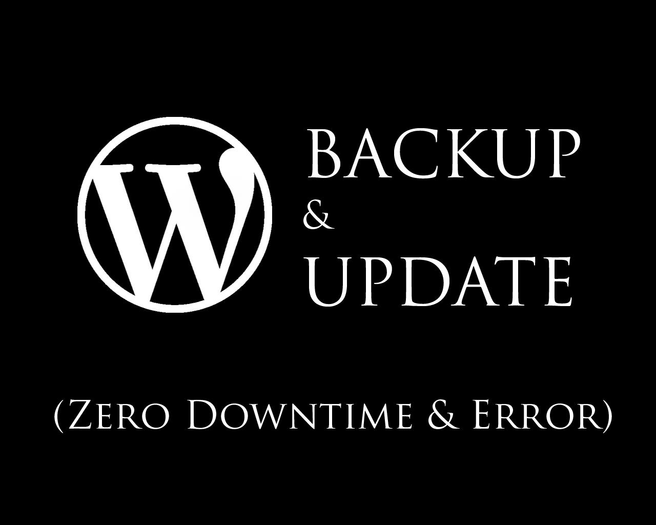 Backup + Update Wordpress Theme & Plugin to Latest Version by hasanet - 101234