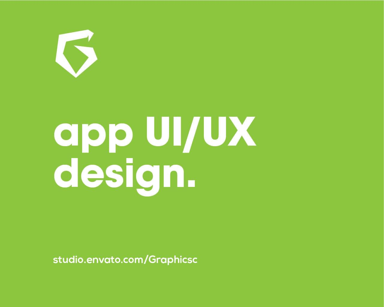 Mobile App UI Designing for iOS and Android by Graphicsc - 117714