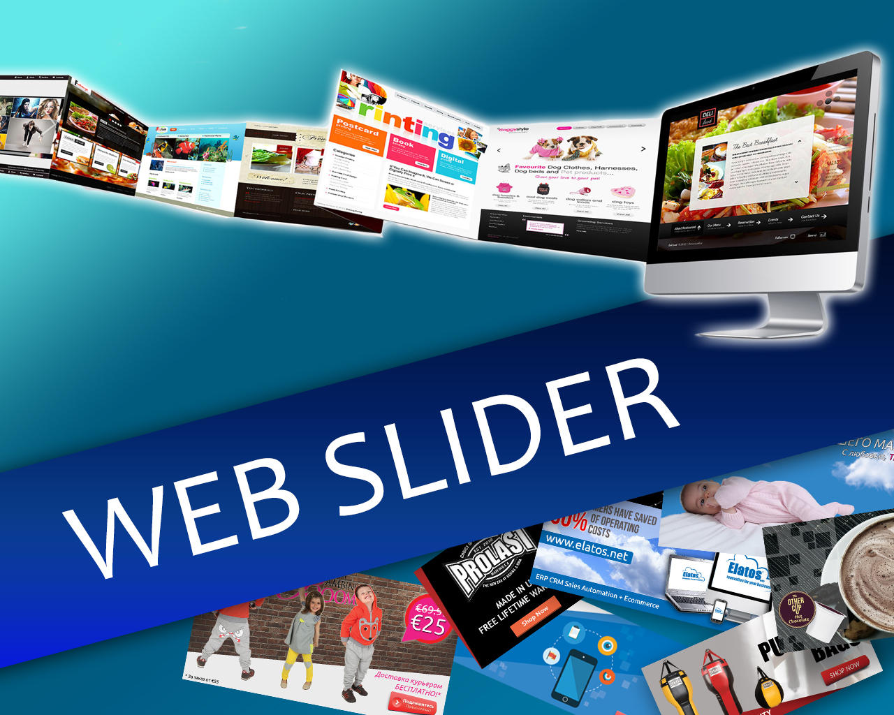 Web Slider in Focus by Sremac - 88865