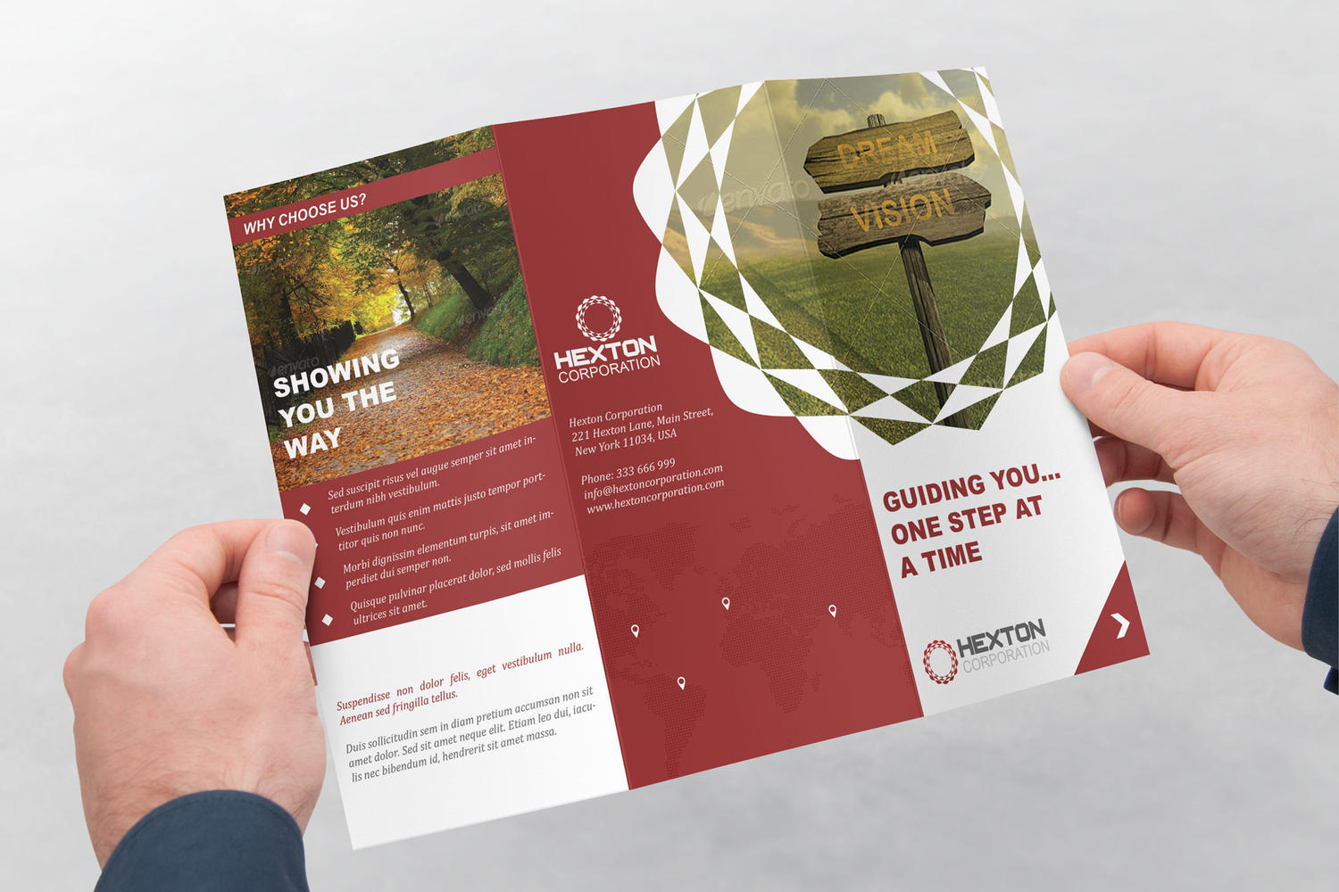 Corporate Trifold Brochure Design by ArtyChristina - 107423