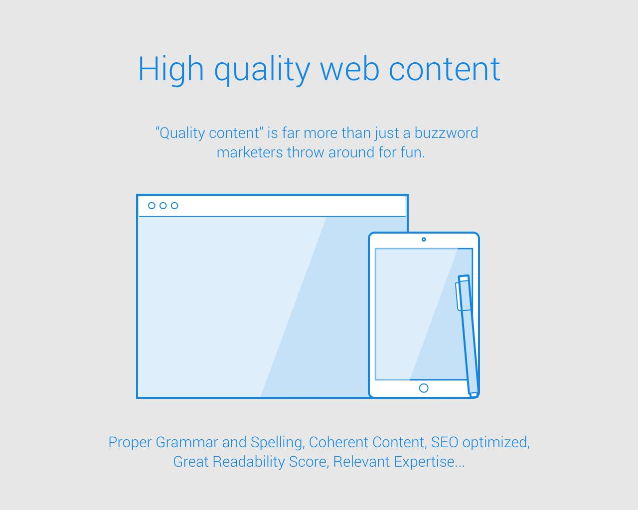 High Quality Website Content by eddienewman - 102566