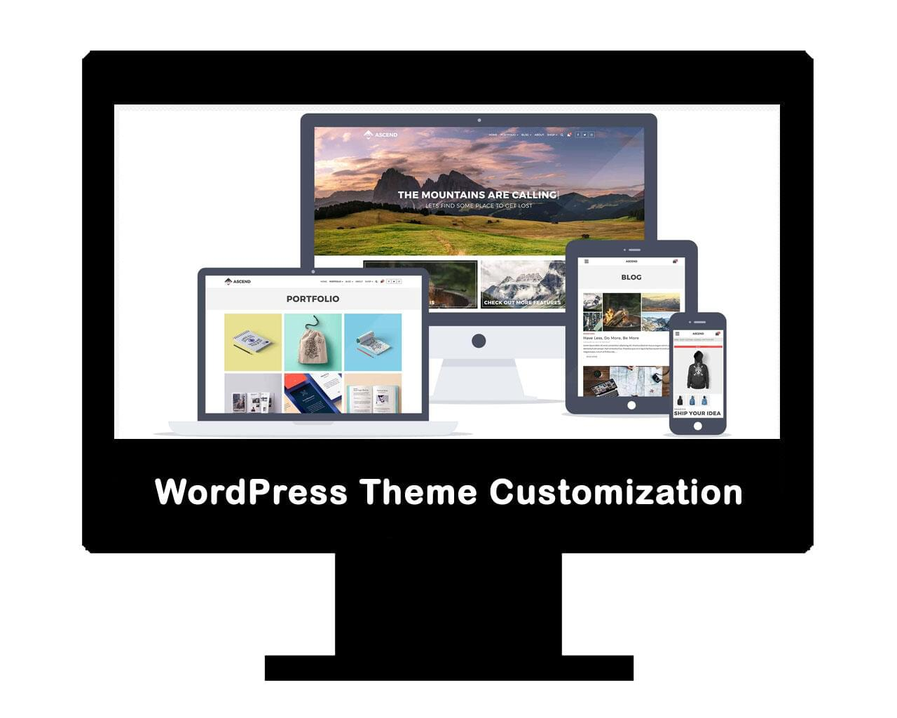 WordPress Customization (WordPress Theme Customization) by AritonangWofa - 118289