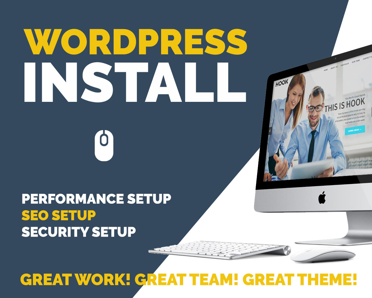 WordPress & Theme Installation + Initial Setup by Pirenko - 102910