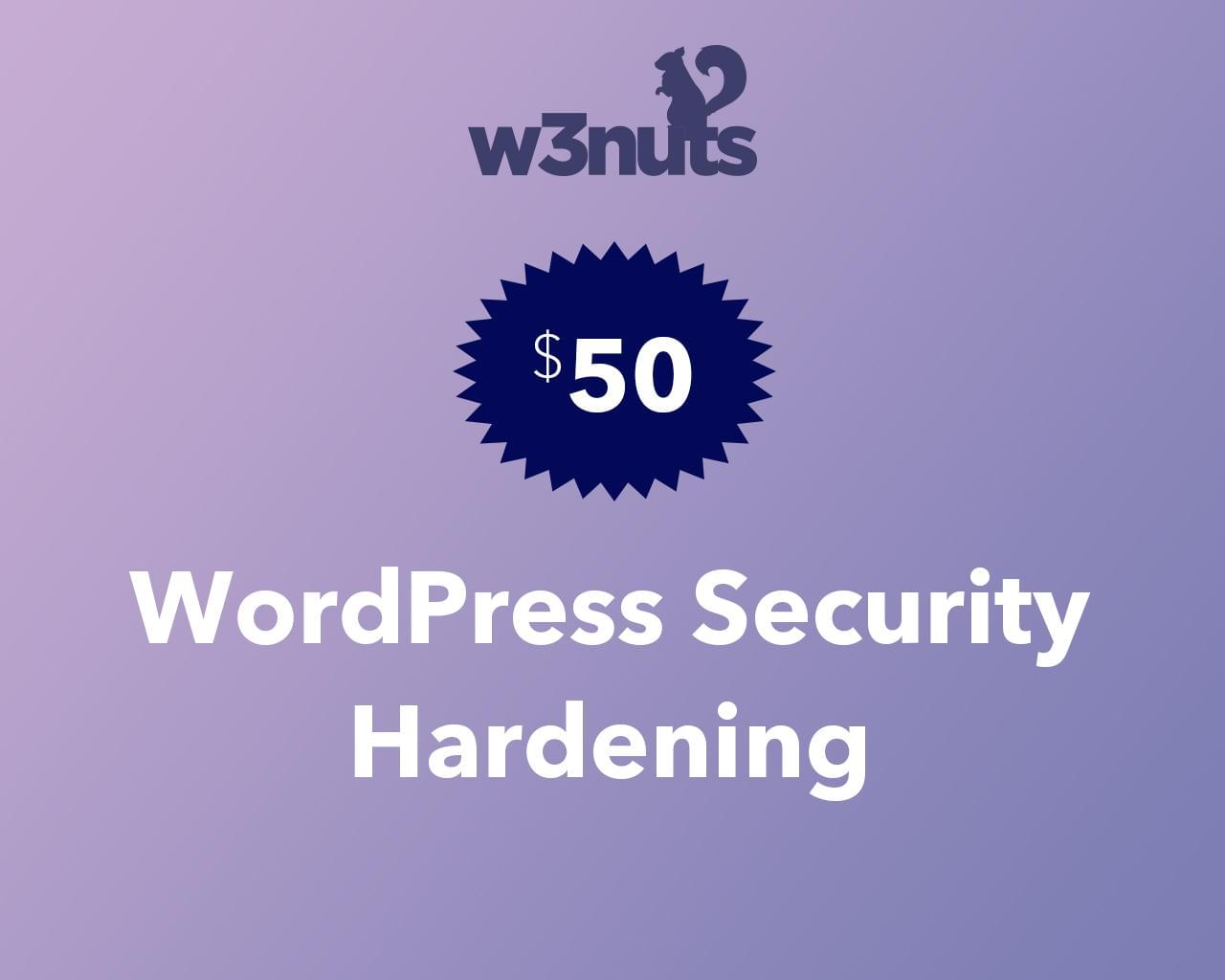 WordPress Security Hardening by samirkaila - 116097