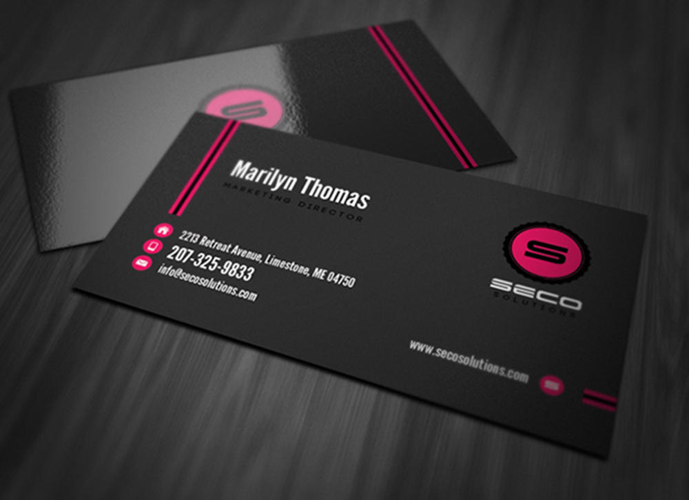 High End Business Card Designs by Chathurangack on Envato