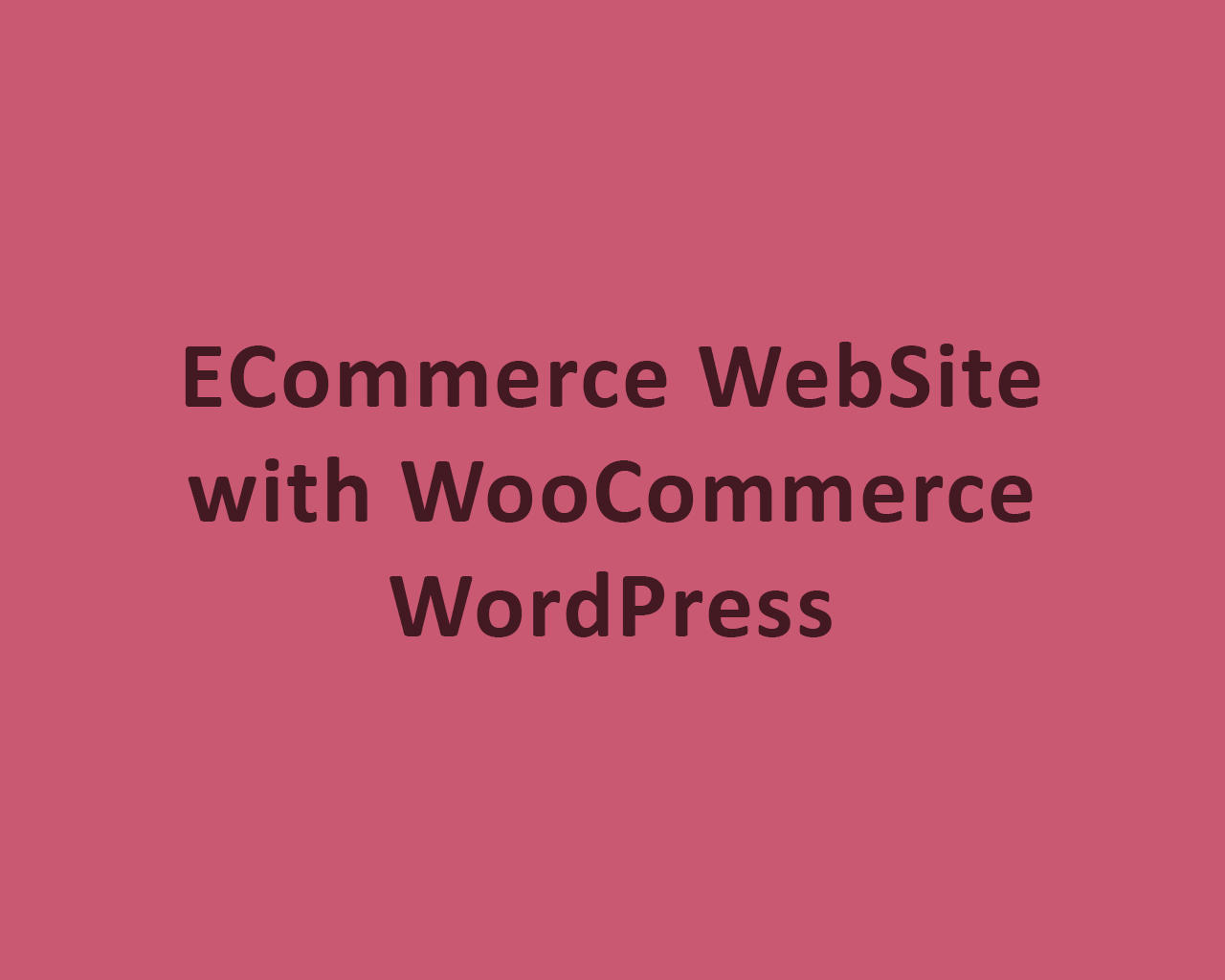 ECommerce WebSite with WooCommerce / WordPress by odiusfly - 105967