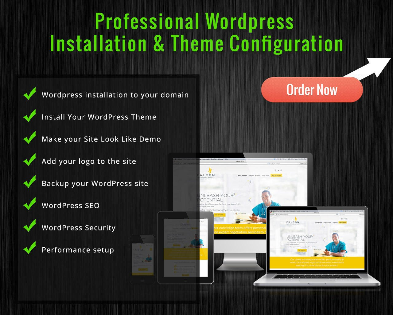 WordPress Theme Installation (Incl. Demo Content, Logo, Plugins, Shop Set-up) by designsvalley - 98513