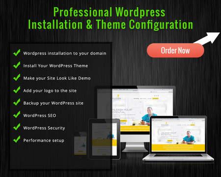 Premium WordPress Theme Setup and Customization (Plugin and Security ...
